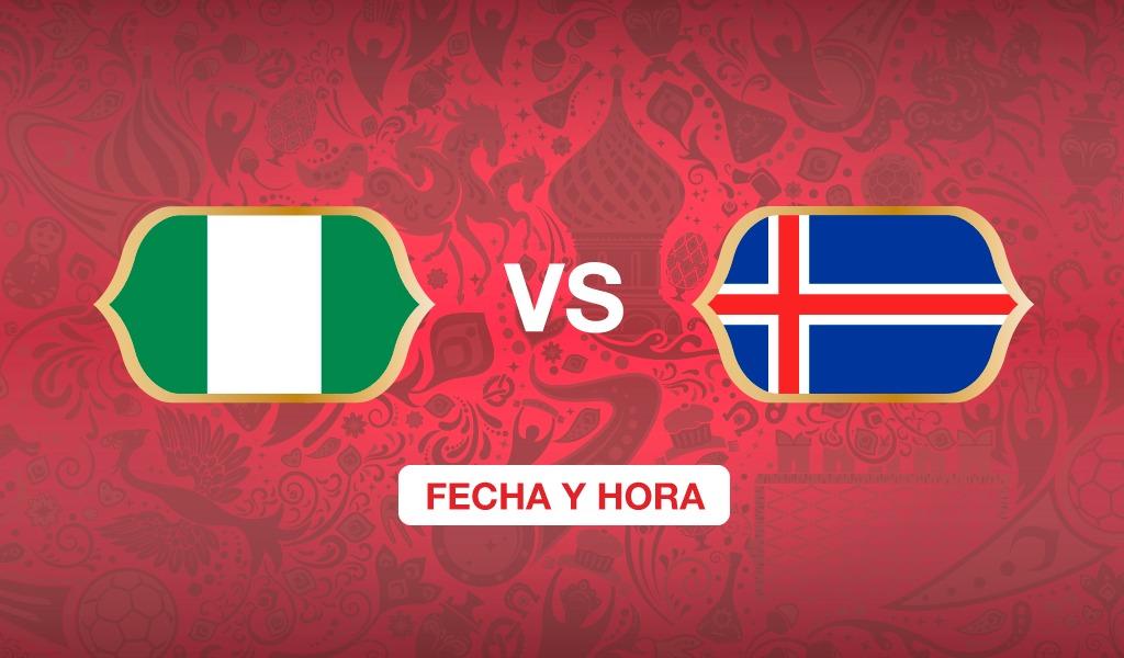 ¿A qué hora juega Nigeria vs Islandia?