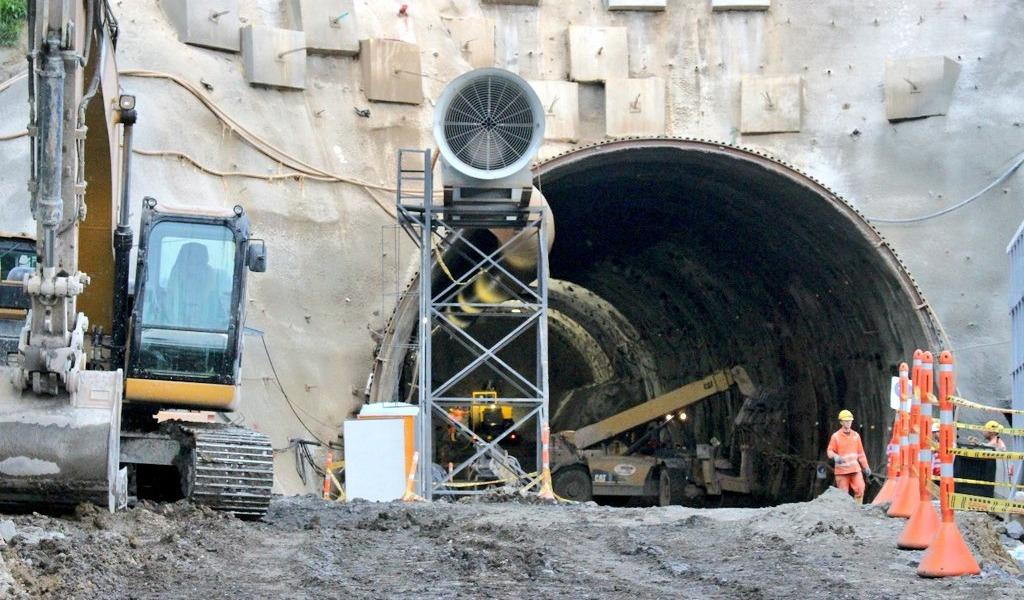 Avances en la construcción del Túnel del Toyo