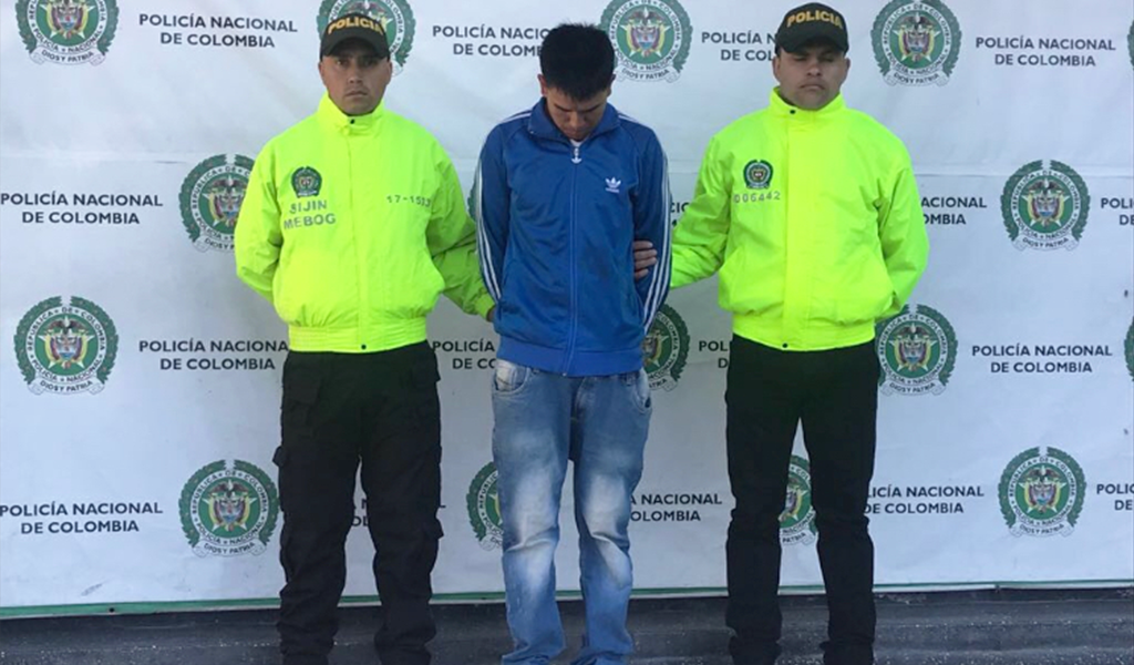 Capturado asesino de funcionario del IDRD en Bogotá