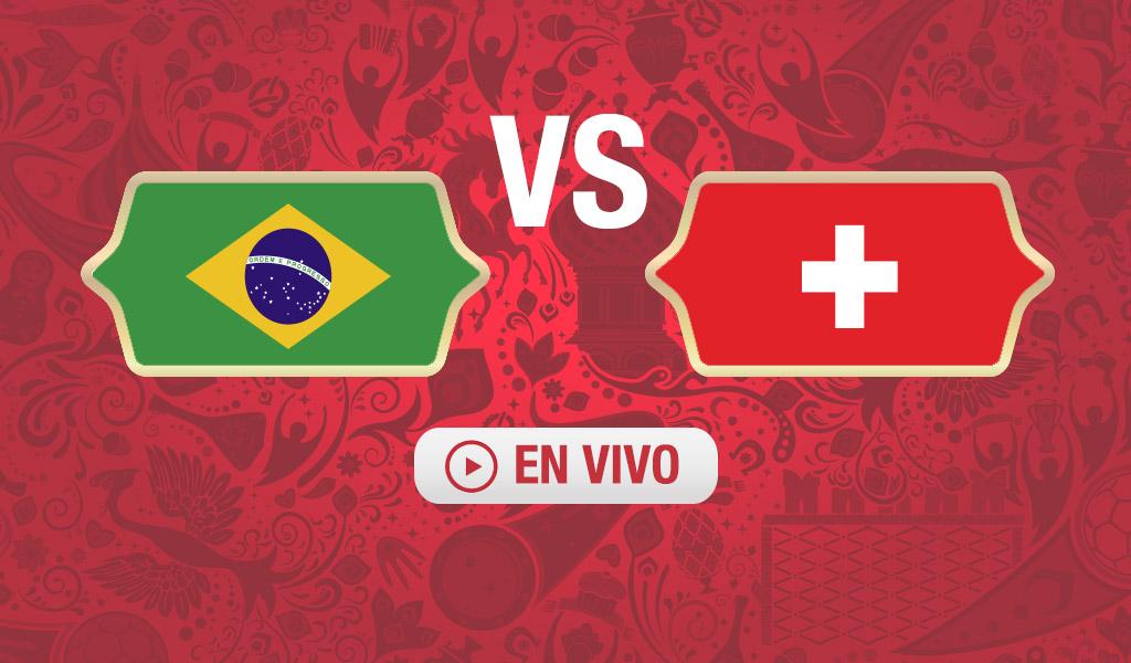¿A qué hora juega Brasil Suiza?
