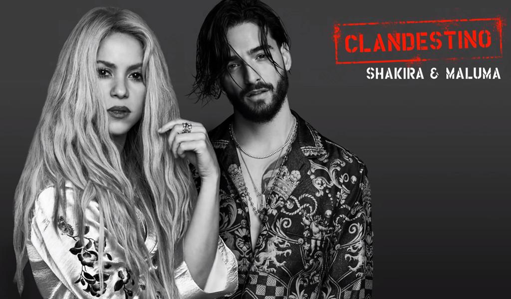 """Shakira y Maluma se unen para lanzar """"Clandestino"""""""