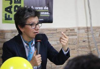 Elogios a Claudia López por nombramientos en el distrito