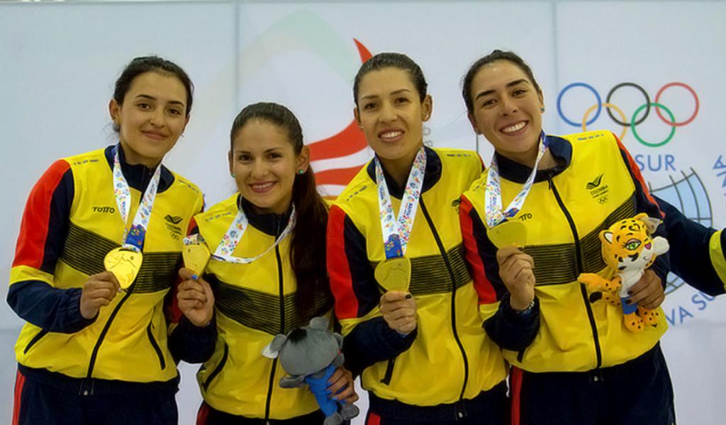 Colombia, campeona de los Juegos Suramericanos