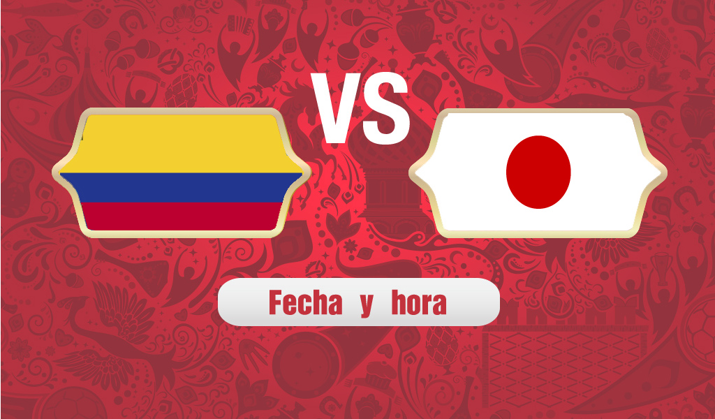 ¿A qué hora juega Colombia vs Japón?