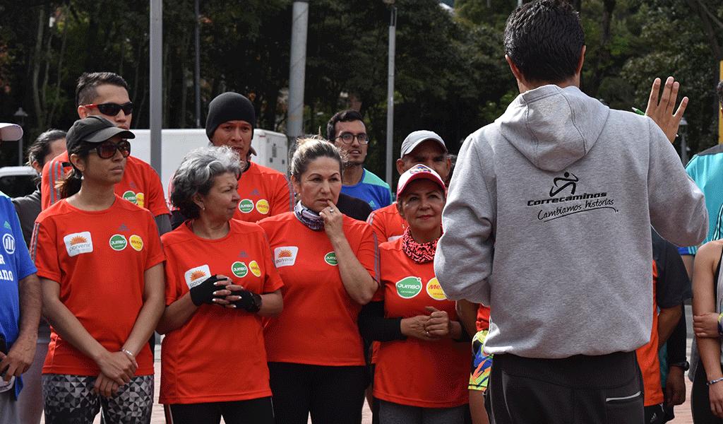 Así se celebró el día mundial del corredor