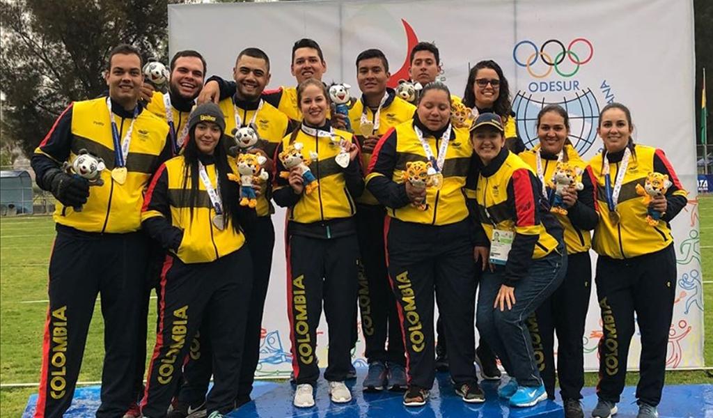 Colombia sigue líder en Juegos Suramericanos