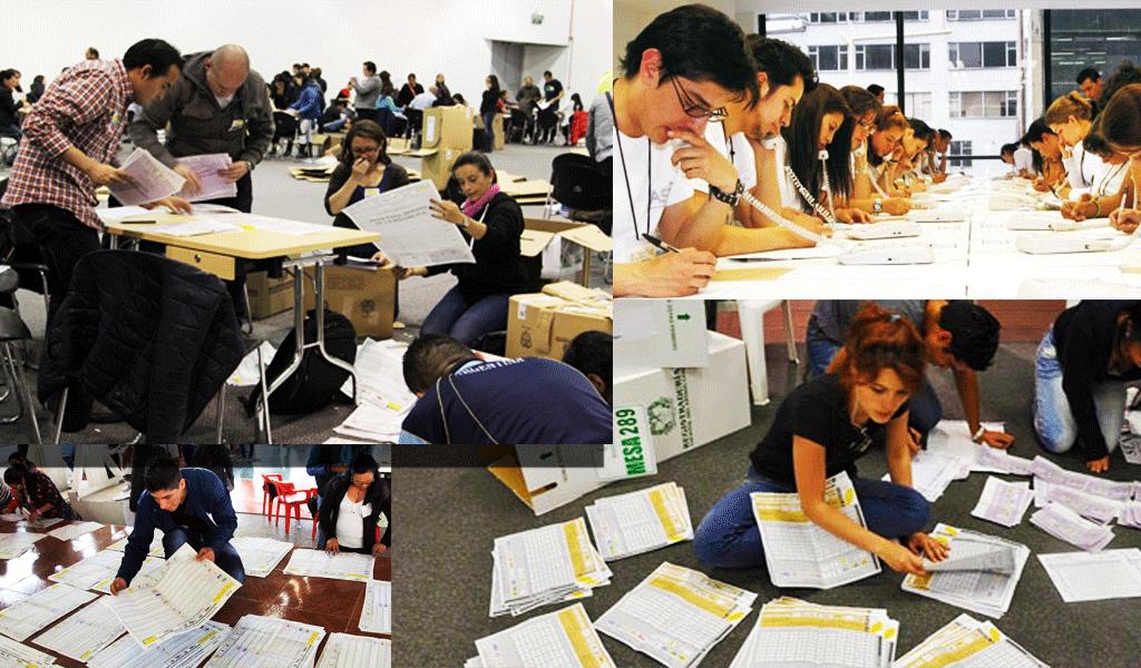 ¿En qué consiste el proceso de escrutinio en las elecciones?