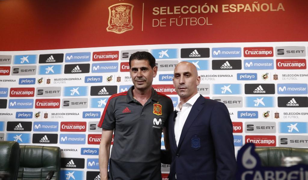 Fernando Hierro, nuevo técnico de España en Mundial de Rusia