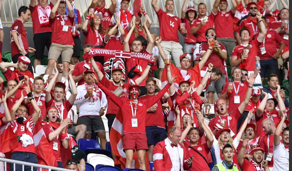 Dinamarca, primera del Grupo C