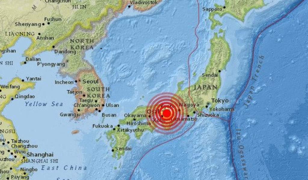 Sismo en Japón deja varios muertos y personas heridas