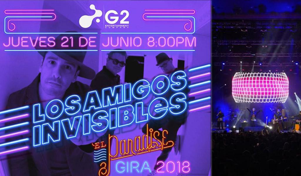 Bogotá saltó al ritmo de Los Amigos Invisibles