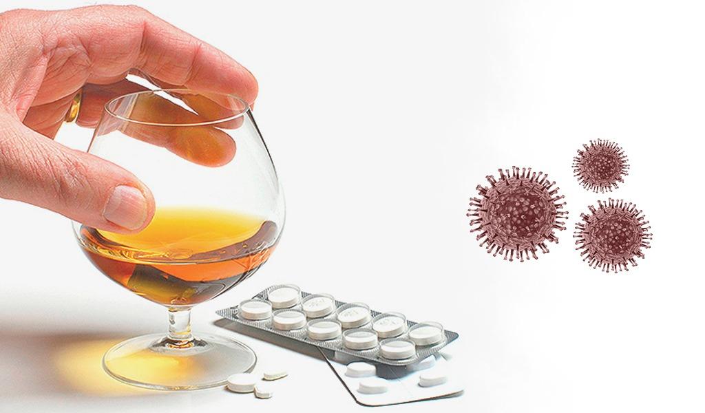 Medicamento para el alcoholismo disminuiría el VIH