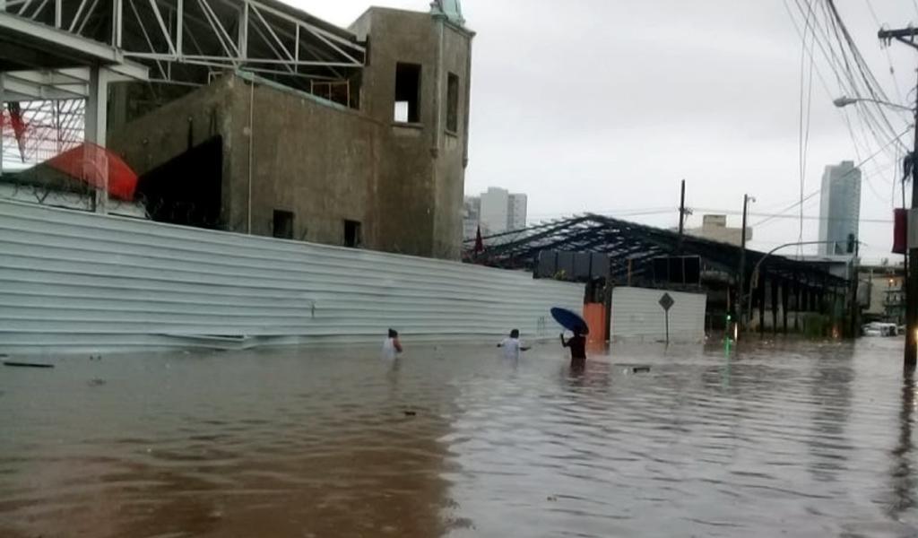 Panamá sufre inundaciones por fuertes lluvias