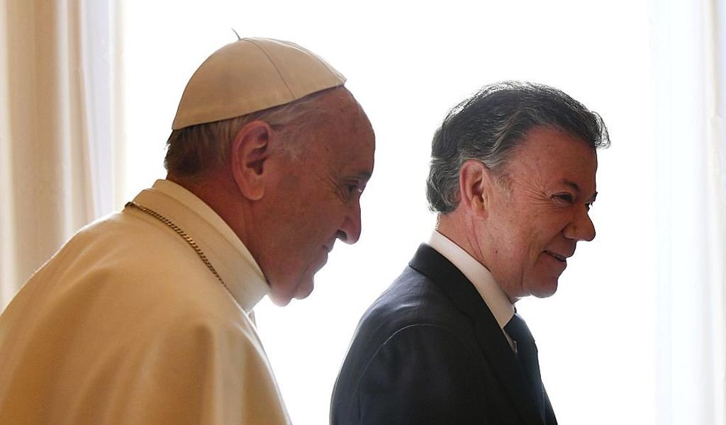 Se cancela reunión entre el Papa y Santos