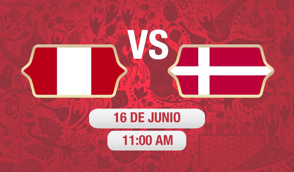 Perú debuta con derrota contra Dinamarca
