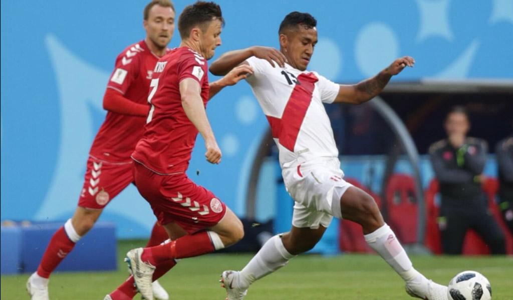 Perú sin precisión ante Dinamarca