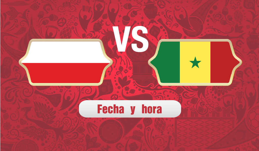 ¿A qué hora juega Polonia vs Senegal?
