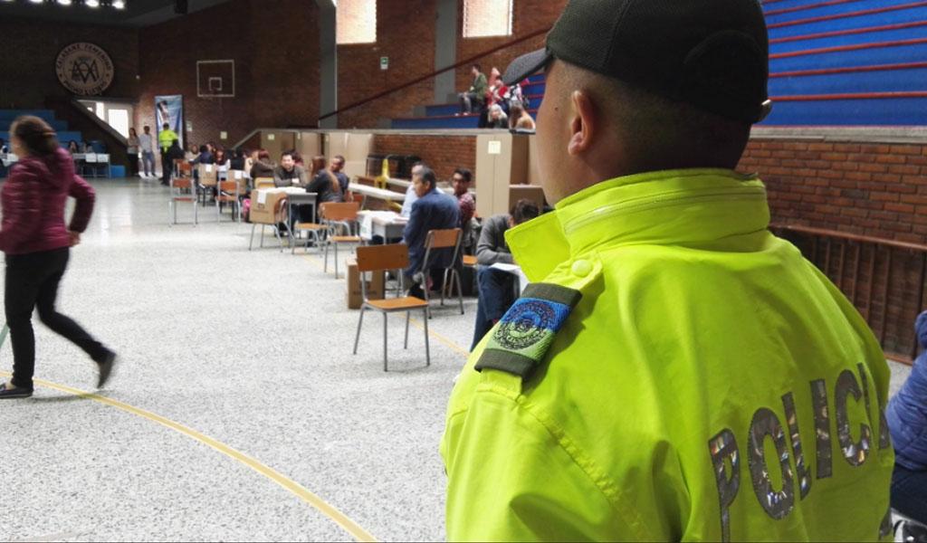 Policía garantizará seguridad en jornada electoral