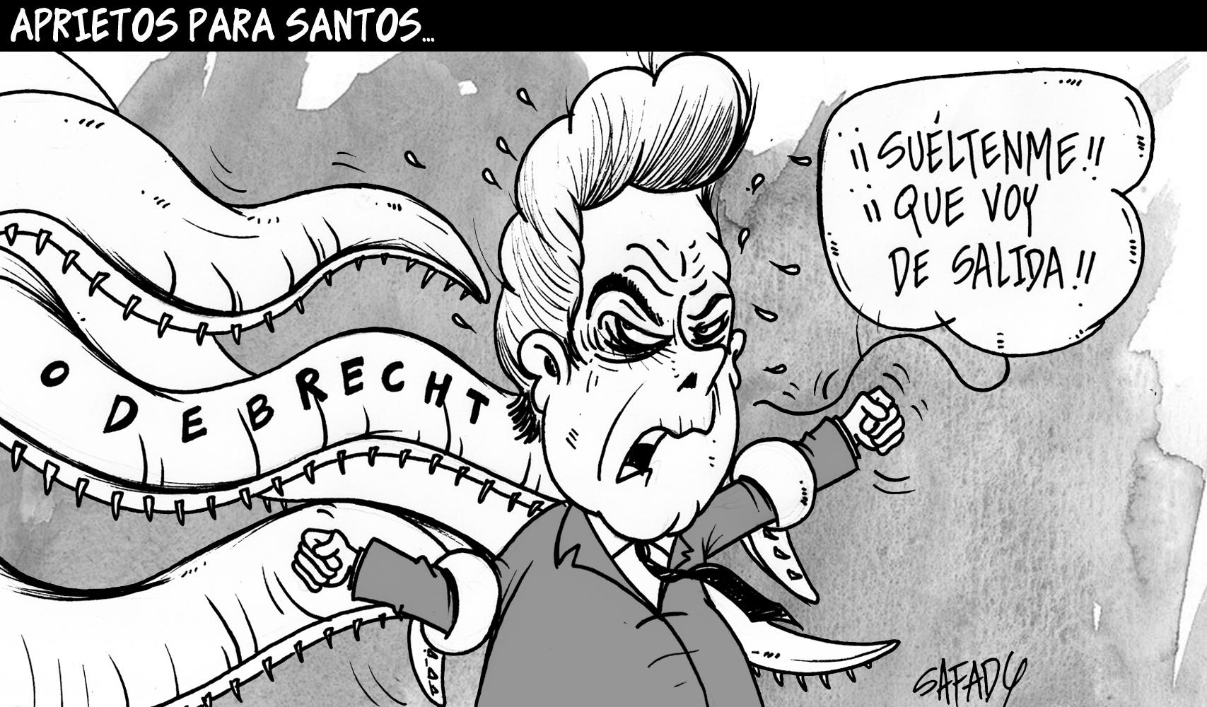 Aprietos para Santos