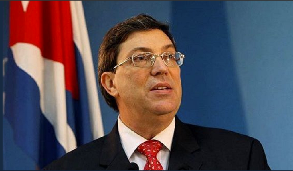 Canciller Cuba