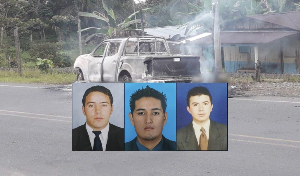 Capturan presuntos asesinos de miembros del CTI
