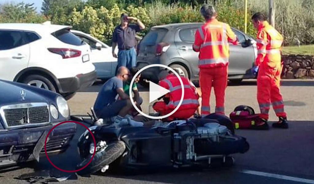 accidente George Clooney italia video