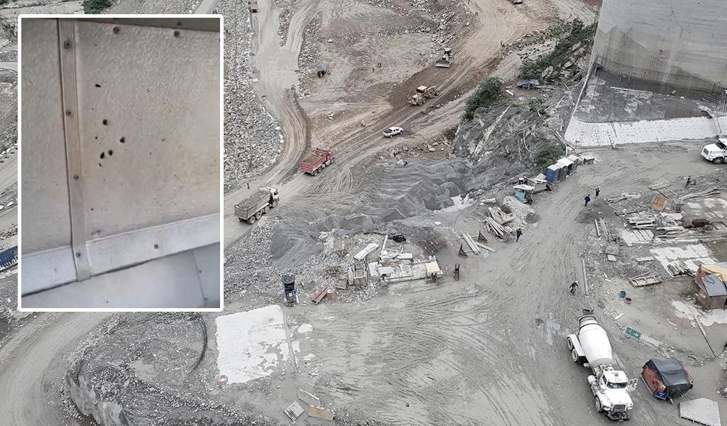 Atacan bus que transportaba a empleados de Hidroituango