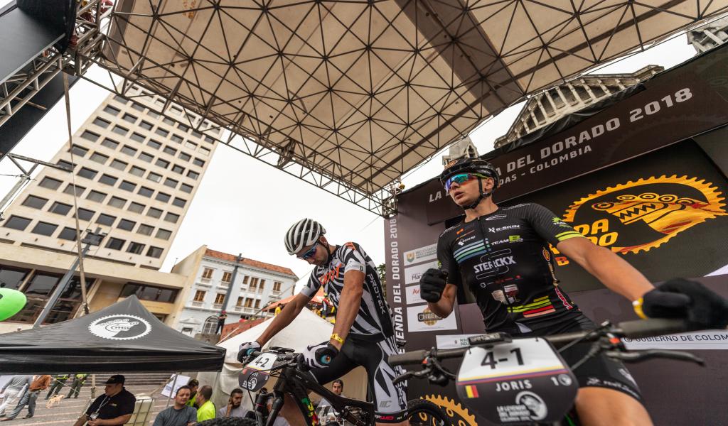 Manizales recibe a ciclistas para La Leyenda del Dorado