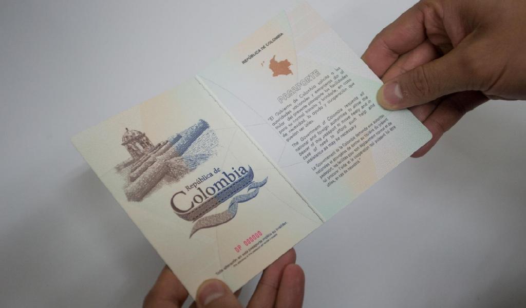 El pasaporte colombiano tiene nueva imagen
