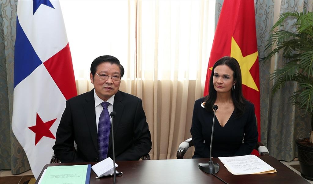 Panamá y Vietnam restablecen relaciones bilaterales