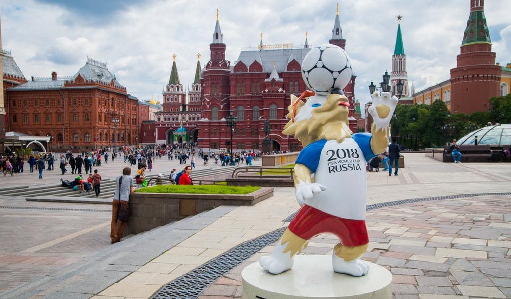 Vladimir Putin condecoró a la Selección Rusa de Fútbol