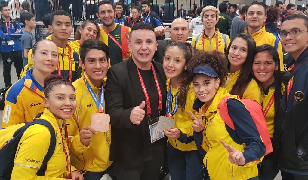 Selección Colombia de Taekwondo se prepara para Centroamericanos