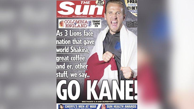 Colombianos se sienten ofendidos con portada de The Sun