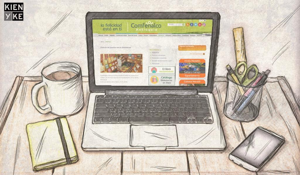 Una biblioteca digital que facilita la gestión del conocimiento