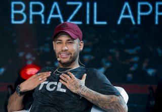 El susto de Neymar al tener de cerca su mayor miedo