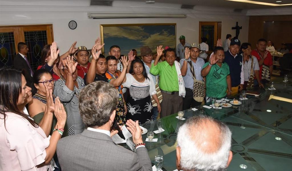 Crean mesa de concertación indígena en Antioquia