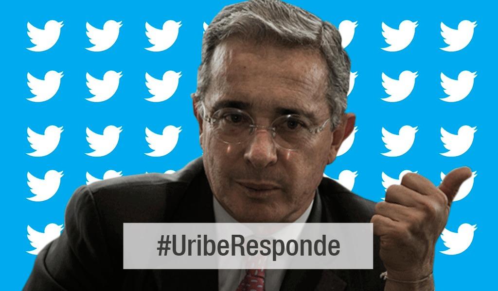#UribeResponde: Voces a favor y en contra