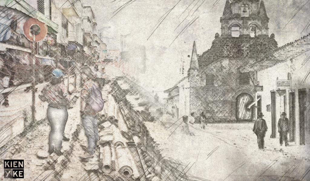 Acueducto del siglo XIX revela la historia de Medellín