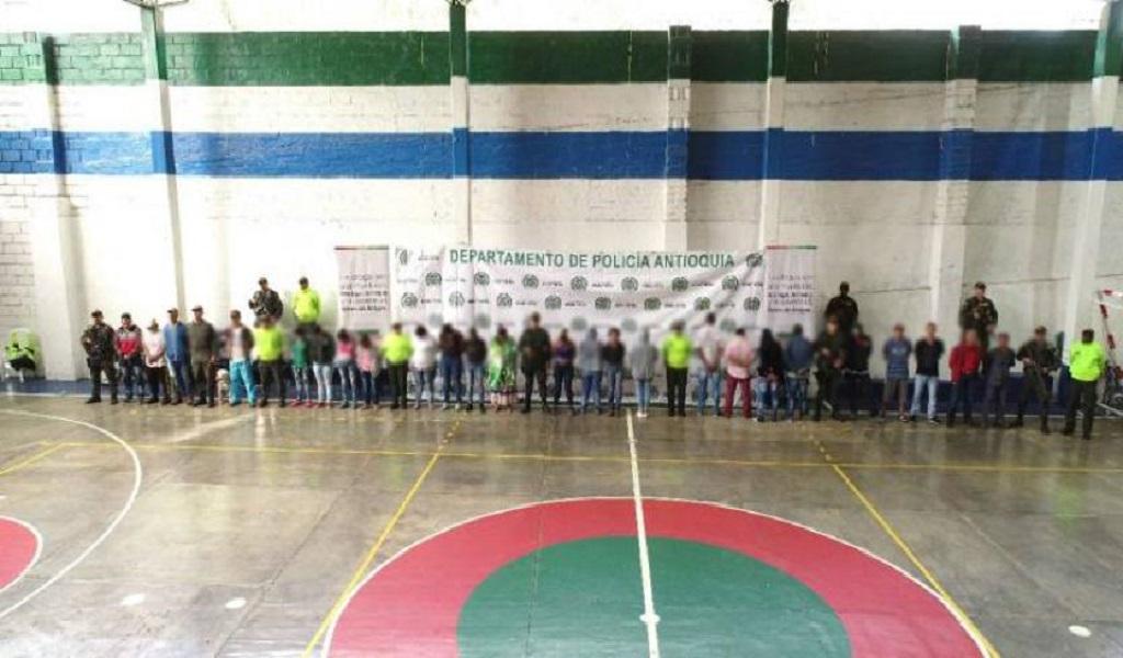 Caen integrantes del Clan del golfo en Antioquia