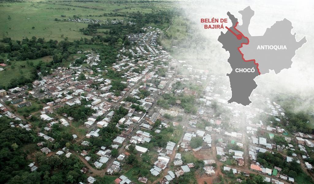 Belén de Bajirá sigue siendo de Antioquia: Luis Pérez