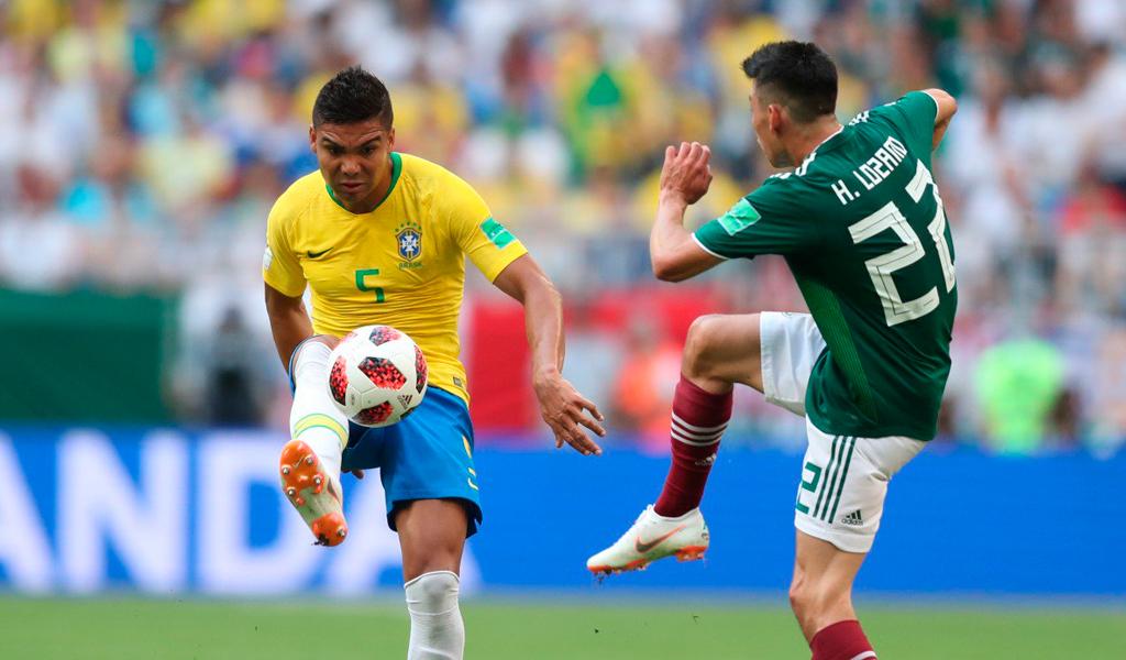 Brasil espera rival en octavos de final