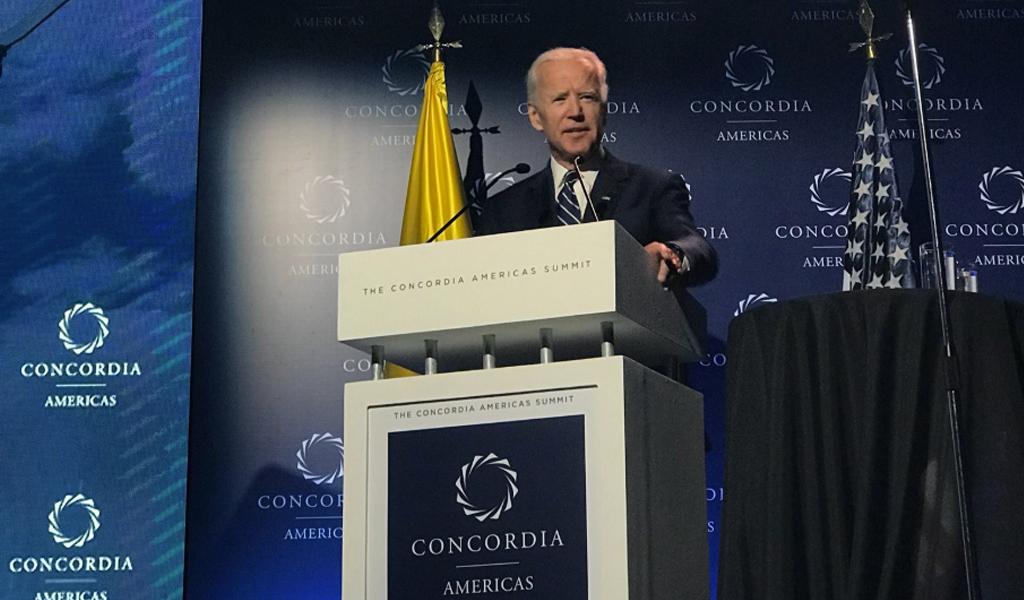 """Joe Biden: """"El Acuerdo de Paz no debe ser minimizado"""""""