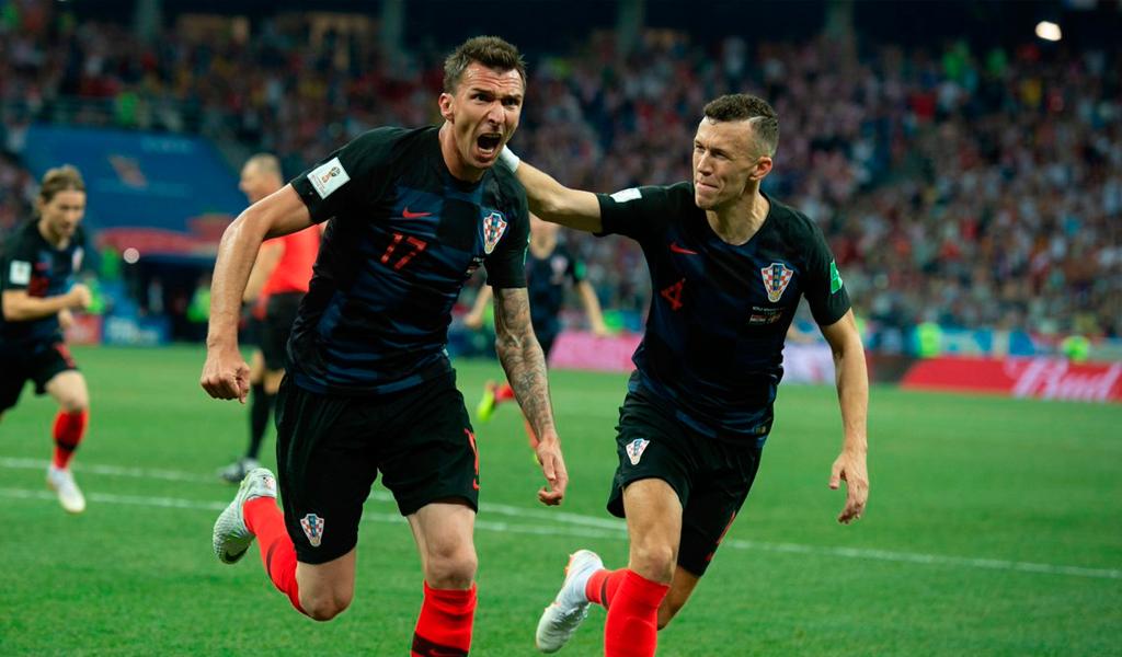 Mandzukic y el gol de la clasificación a la final
