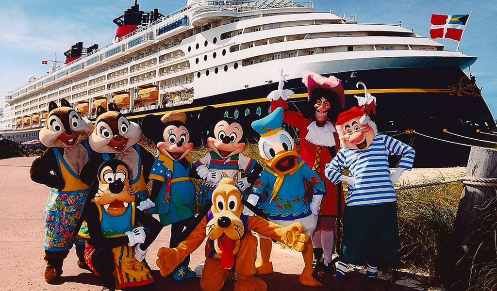 El crucero de Disney, un cuento de hadas