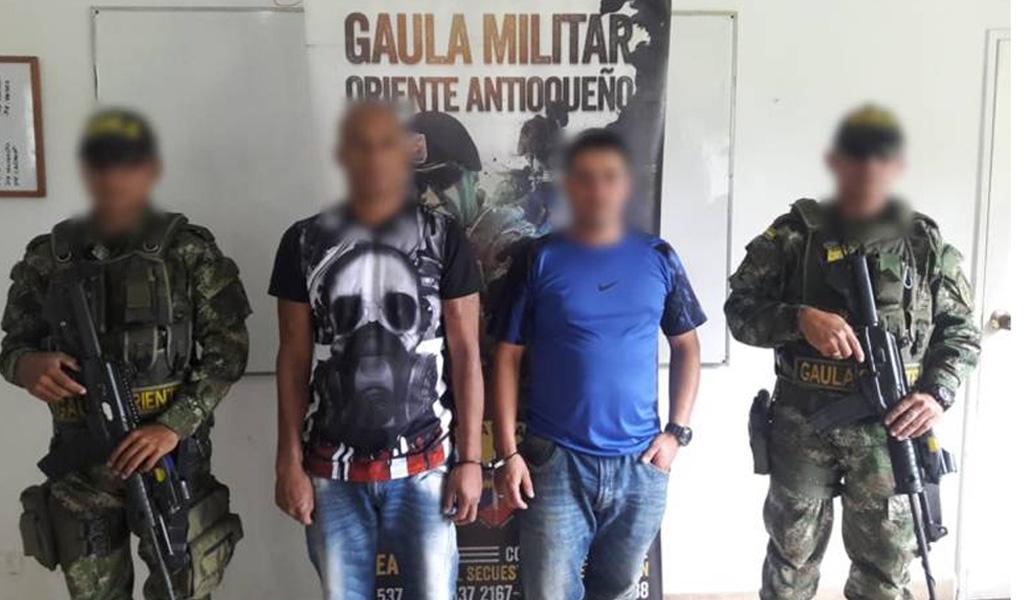Enfrentamiento entre Ejército y extorsionistas en Antioquia