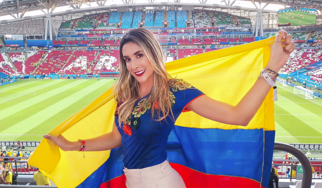 Celebridades colombianas se enferman en Rusia
