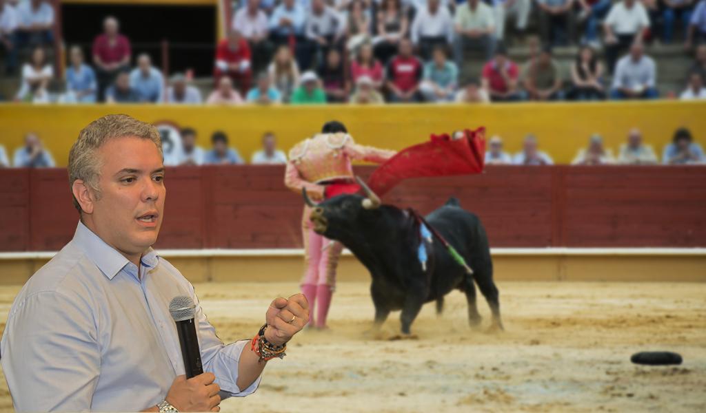 "Corridas de toros deben estar exentas de ""barbarie"": Duque"