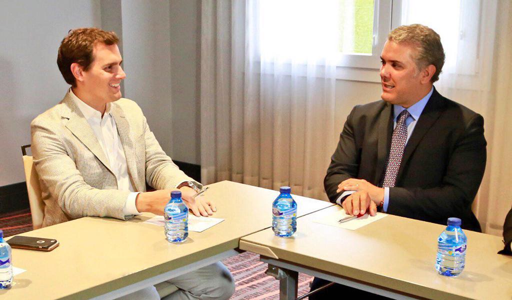 Iván Duque desarrolla importante agenda en Madrid