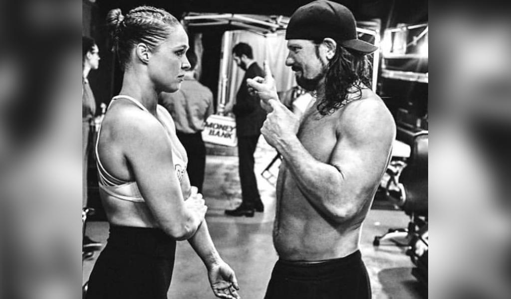 Ronda Rousey AJ Styles