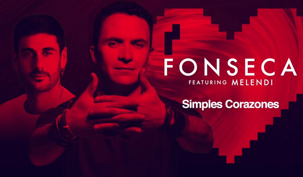 """""""Simples corazones"""" remix, lo nuevo de Fonseca y Melendi"""